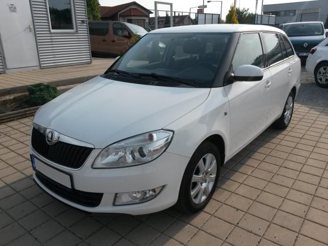 Škoda Fabia Eleg. 1,6TDI, CZ, 1.majitel