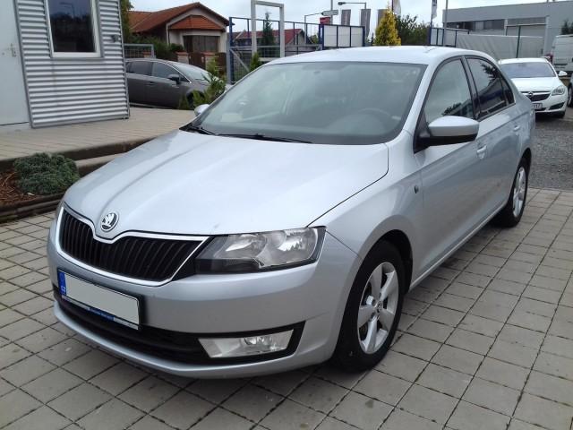 Škoda Rapid 1,6TDI, CZ, 1.majitel, Klima