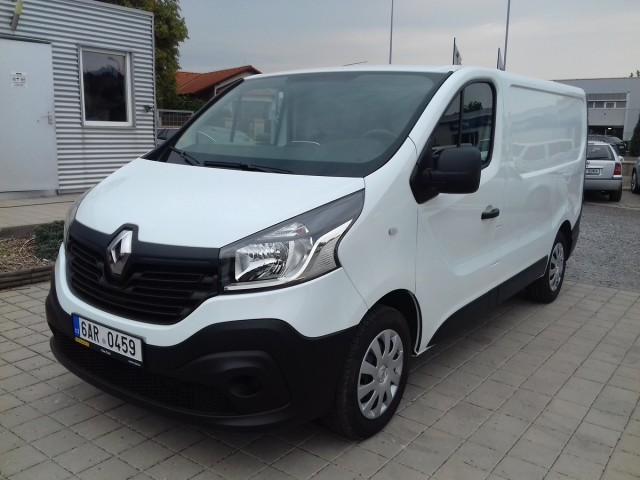 Renault Trafic 1,6dCi, CZ 1.majitel, Klima