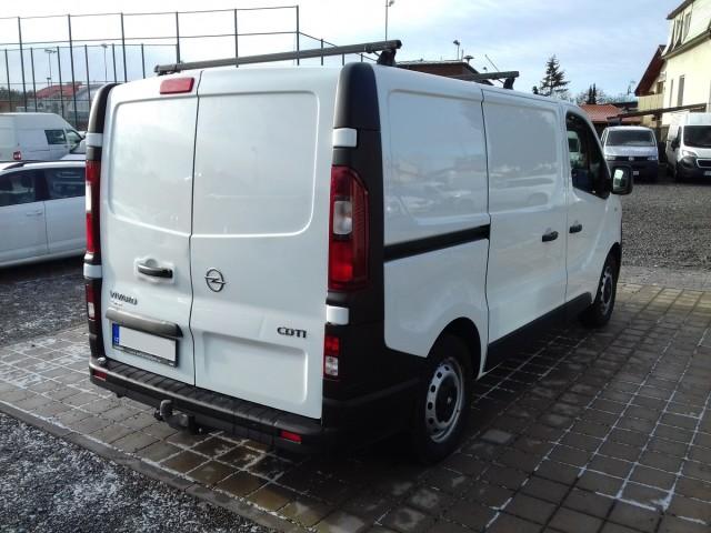 Opel Vivaro 1,6CDTI 85kW, CZ, 1.majitel
