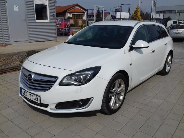 Opel Insignia 2,0CDTi 96kW, CZ, 1.Majitel