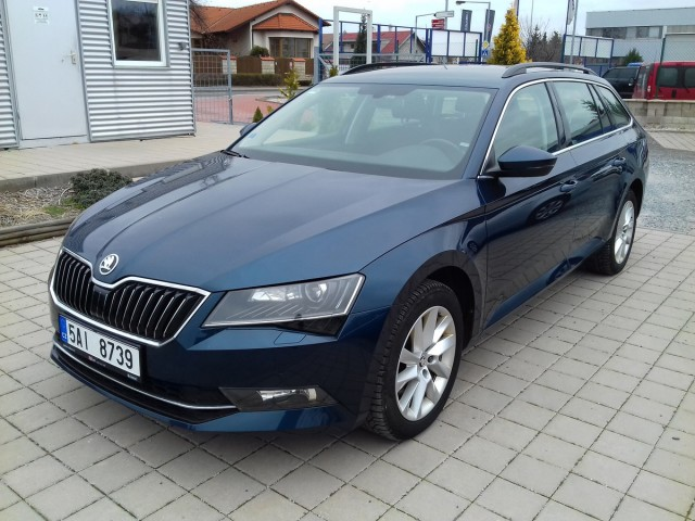 Škoda Superb 2.0 TDI Ambition REZERVACE