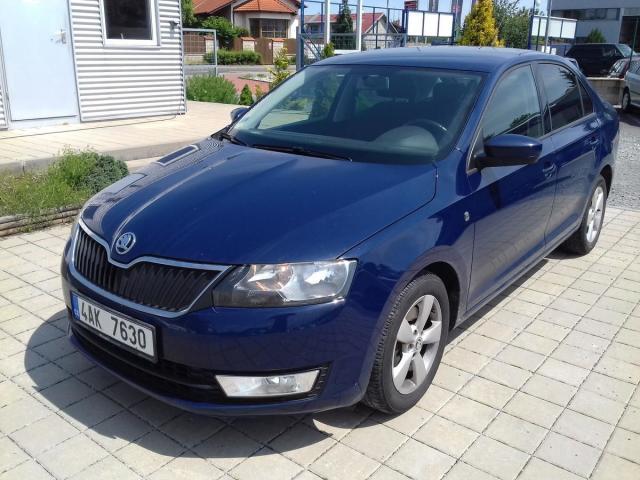 Škoda Rapid 1,6 TDI 77kW, Ambition Plus