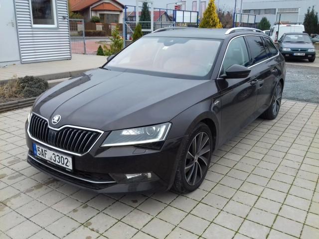 Škoda Superb 2,0 TDI 140kW, L&K Rezervace