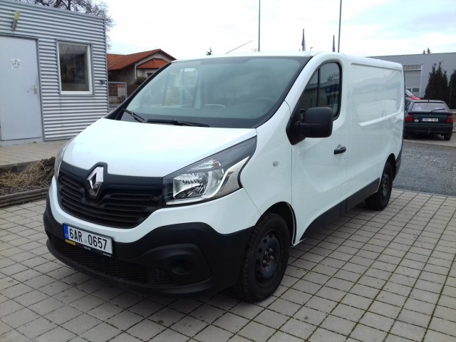 Renault Trafic 1,6dCi 70kW, Klima