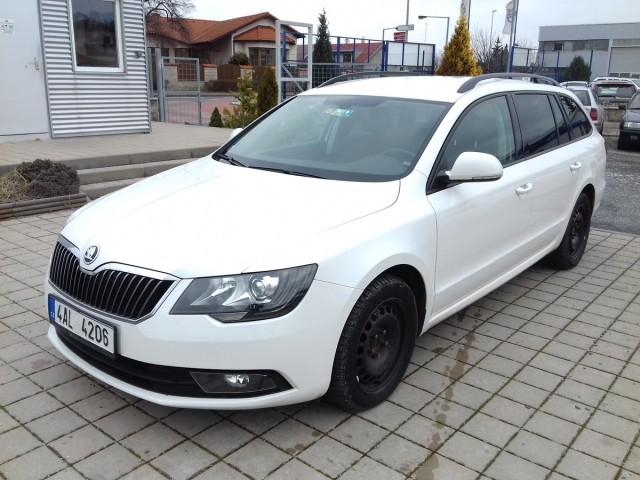 Škoda Superb 2,0TDI, CZ