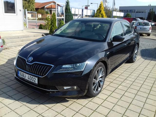 Škoda Superb 2,0 TDI Laurin Klement 140kW